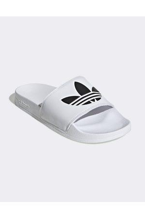 adidas Adilette Lite sliders in white