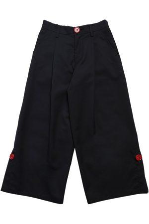 Marni Pantalones Anchos De Mezcla De Lana
