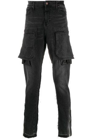 VAL KRISTOPHER Jeans slim con varios bolsillos