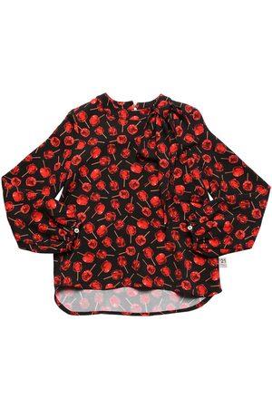 Nº21 Camisa De Viscosa Con Estampado