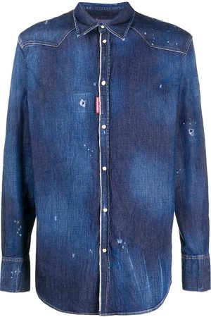 Dsquared2 Long-sleeve denim shirt