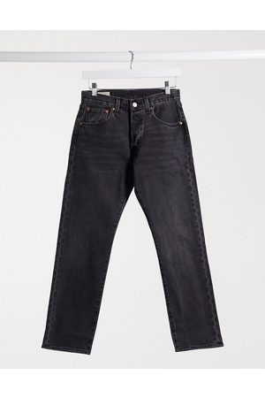 Levi's 501 '93 cropped straight fit jeans in washed black
