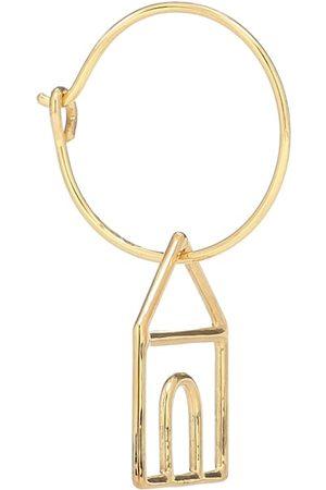 Aliita Casita 9kt gold single hoop earring