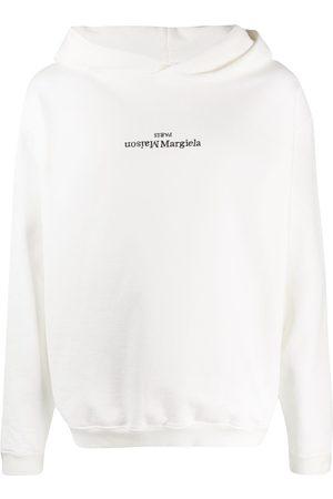 Maison Margiela Sudadera con capucha y logo