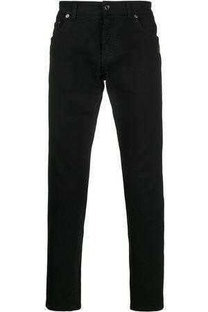 Dolce & Gabbana Jeans rectos con rayas en contraste