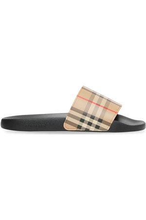 Burberry Flip flops con estampado Vintage Check