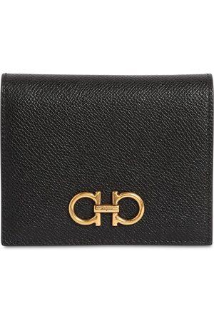 Salvatore Ferragamo Leather Card Holder