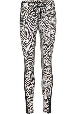 The Upside Yoga zebra-print leggings