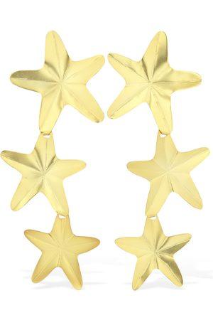 """Mercedes Salazar Pendientes De Clip """"starfish"""""""