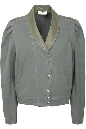 Isabel Marant Priest Cotton Gabardine Jacket