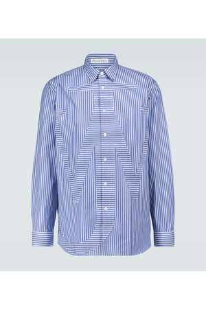 J.W.Anderson Relaxed anchor appliqué shirt