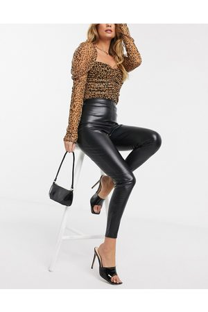 ASOS Crocodile leather look legging