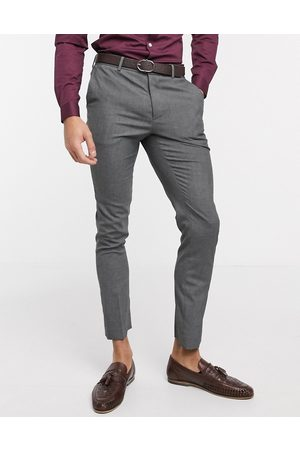 New Look Skinny suit trouser in dark grey