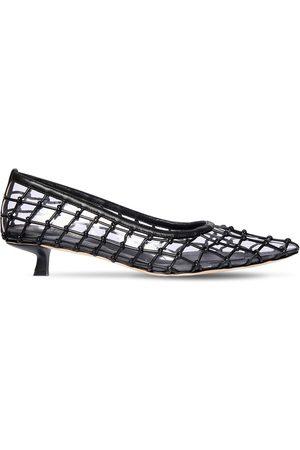 """Cult Gaia Zapatos """"kenny"""" De Piel Y Pvc 20mm"""
