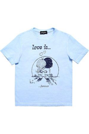 Dsquared2 Camiseta De Jersey Con Estampado