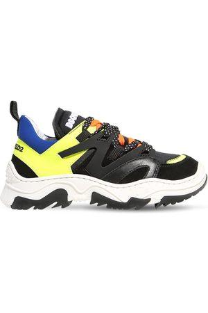 Dsquared2 Niño Tenis - Sneakers De Neopreno Y Piel Con Cordones