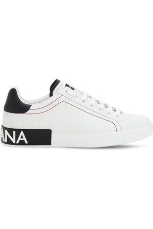 """Dolce & Gabbana Sneakers """"portofino"""" De Piel"""