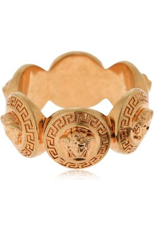 "VERSACE Anillo Con Moneda ""multiple Medusa"""