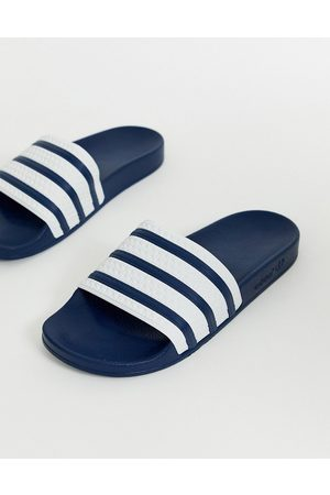 adidas Hombre Tenis - Adilette sliders in navy