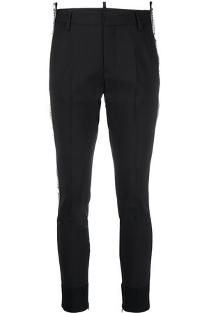 Dsquared2 Pantalones slim con logo estampado
