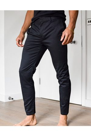 River Island Skinny chinos in black