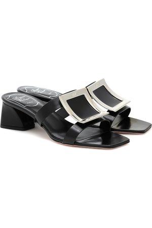 Roger Vivier Bikviv' 45 leather sandals