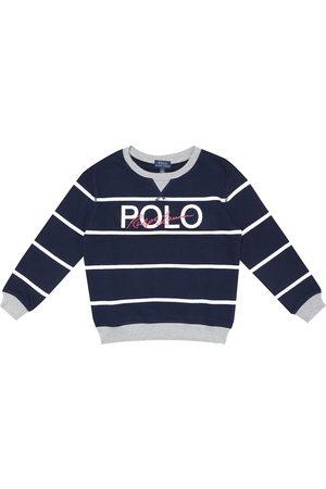 Ralph Lauren Logo striped cotton sweatshirt