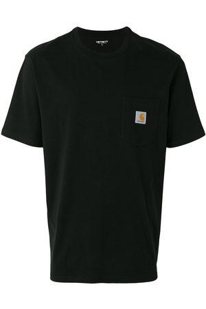 Carhartt Hombre Playeras - Camiseta con parche del logo
