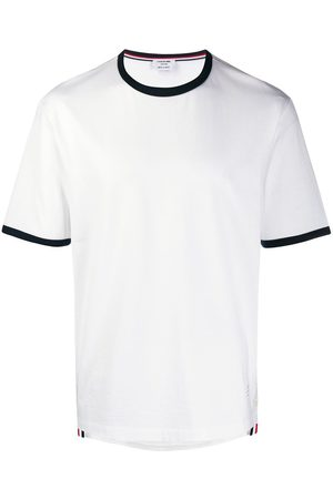 Thom Browne Contrasting trim T-shirt