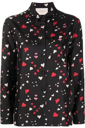 La DoubleJ Camiseta con estampado de corazón