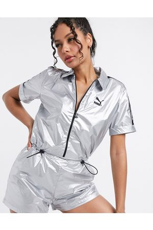 Puma Playsuit in silver