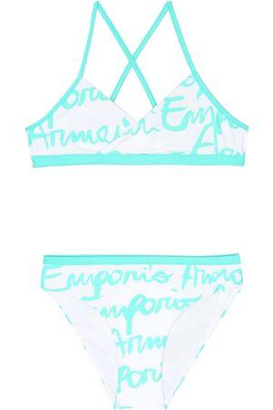 Emporio Armani Logo print bikini