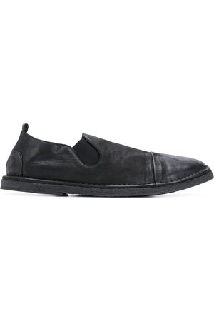 MARSÈLL Distressed-effect slip-on loafers