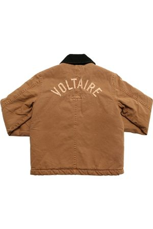 Zadig & Voltaire Embroidered Logo Cotton Denim Jacket