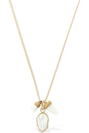 """Isabel Marant Mujer Collares - Collar """"its All Right"""" Con Dijes"""