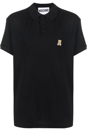 Moschino Playera tipo polo con parche Teddy Bear