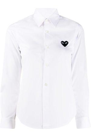 Comme des Garçons Camisa manga larga con logo