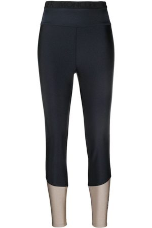 Moncler Logo print leggings