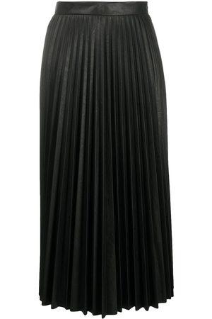 MM6 MAISON MARGIELA Falda midi plisada