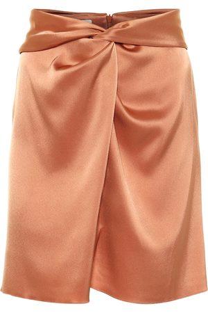 Nanushka Mujer Minifaldas - Milo satin miniskirt