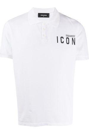 Dsquared2 Playera tipo polo Icon con logo