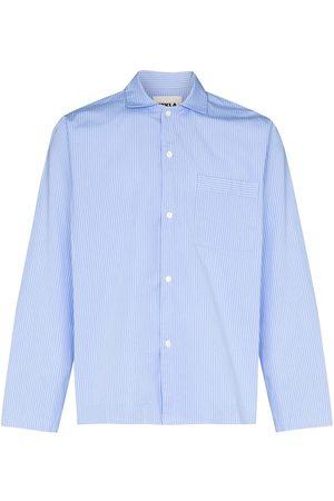 Tekla Fabrics Camisa de pijama a rayas