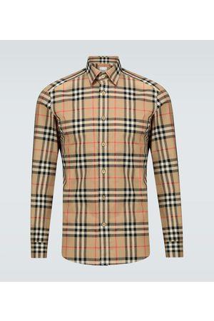 Burberry Caxton checked cotton shirt