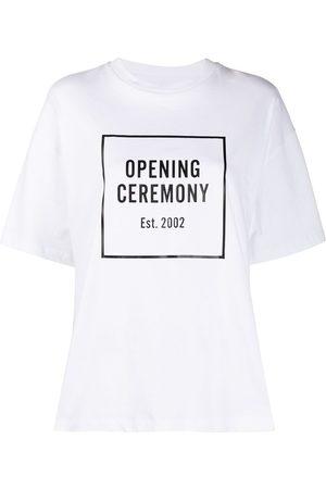 Opening Ceremony Playera holgada con logo