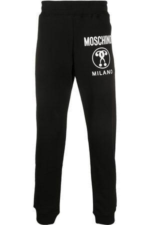 Moschino Pants con motivo Double Question Mark