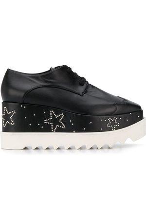 Stella McCartney Mujer Plataformas - Zapatos de plataforma Elyse con detalle de estrellas