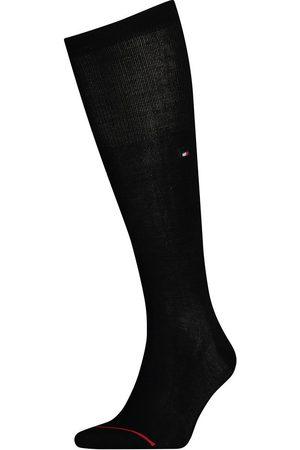 Tommy Hilfiger Calcetines Tailored Mercerized Kneehigh EU 39-42 Black
