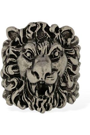 """Gucci Anillo Grueso """"lionhead"""""""
