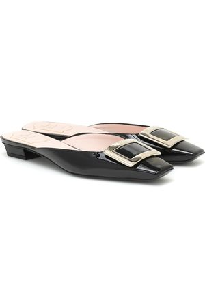 Roger Vivier Belle Vivier patent-leather slippers