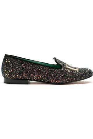 Blue Bird Shoes Mocasines Love con glitter